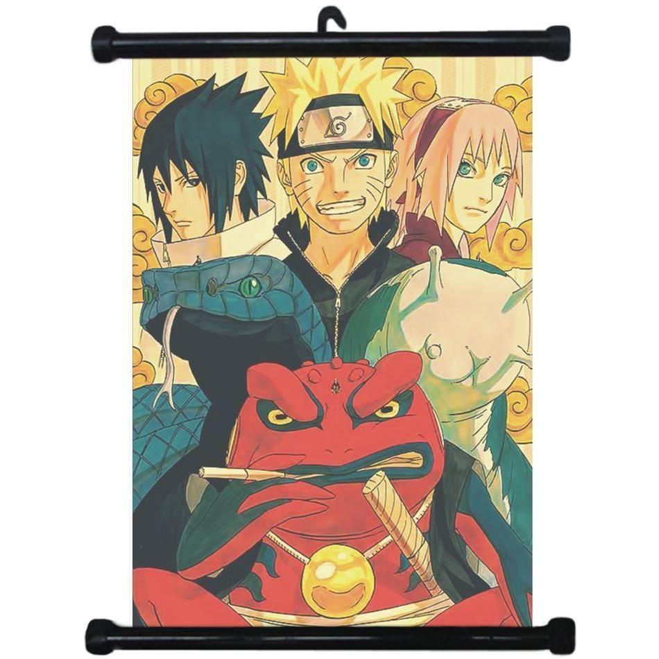 sp210810 Naruto Itachi Uchiha Japan Anime Home Decor Scroll Poster 21 x 30cm