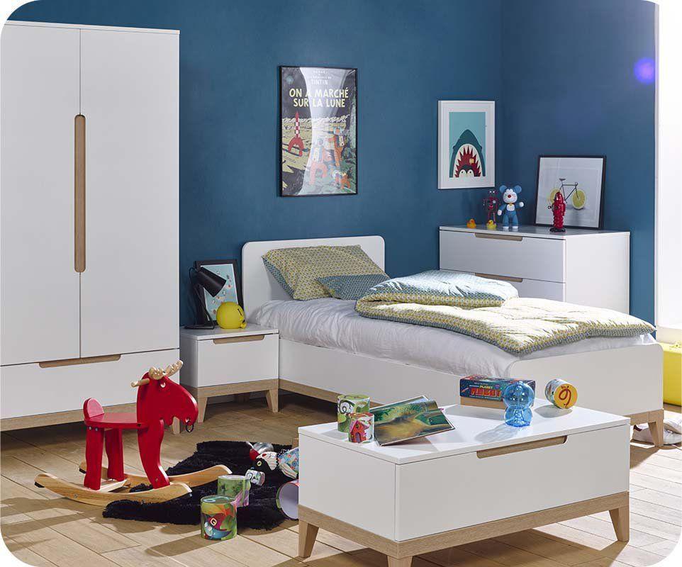 Chambre #Enfant #Bébé #Blanc #France #Bio #Bois | La Collection Riga