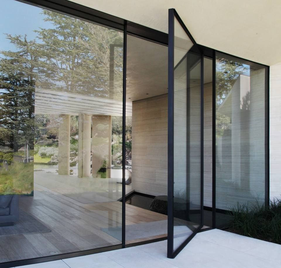 Garage Designs Uk: Vitrocsa: Pivot Door Www.vitrocsa.co.uk