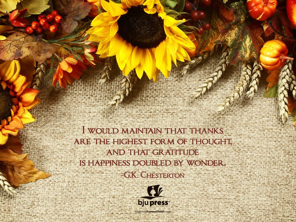 Christian Thanksgiving Wallpaper  Thanksgiving Wallpapers