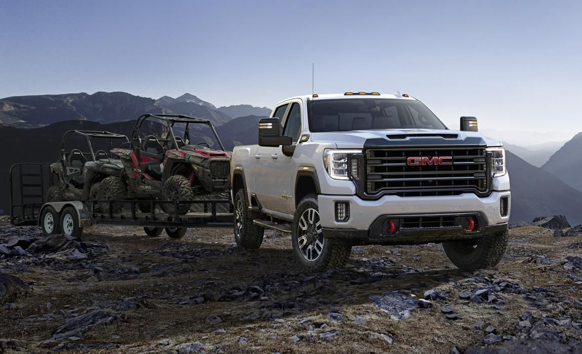 Gmc 2020 Sierra Hd Preview Photos Towing Specs Release Date Gmc Sierra Gmc Gmc Denali Truck