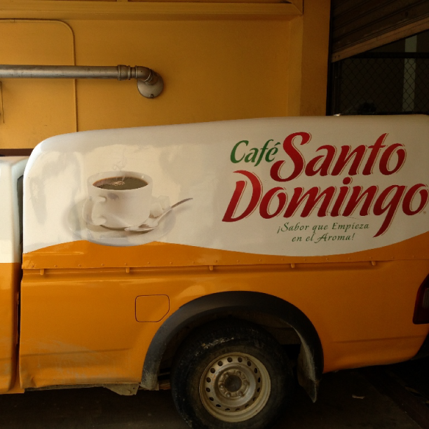 300 of these trucks deliver #coffee daily in the #Dominican!