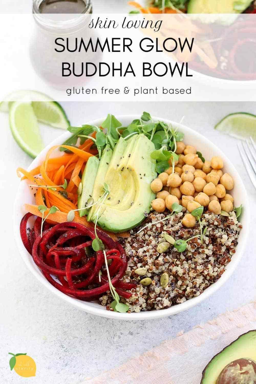 Summer Quinoa Veggie Buddha Bowl