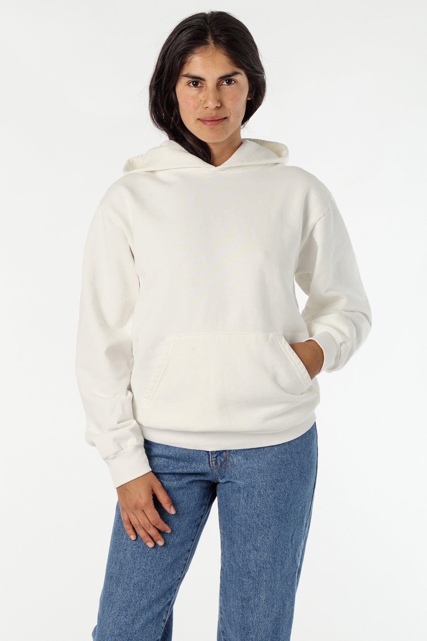 Hf09gd Unisex Garment Dye 14oz Heavy Fleece Hooded Pullover Sweatshirt Hooded Pullover Sweatshirts Pullover Sweatshirt