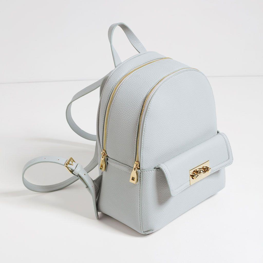 sac dos zip tout voir sacs femme zara belgique. Black Bedroom Furniture Sets. Home Design Ideas