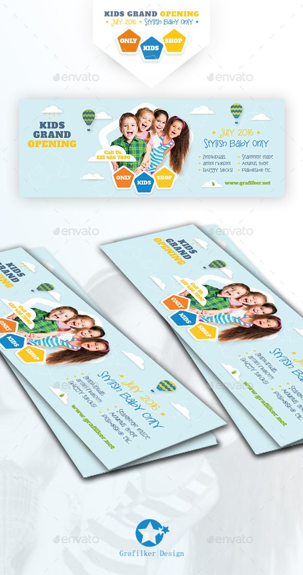 Kids Store Cover Templates Facebook timeline, Template and Graphics - timeline template for kids