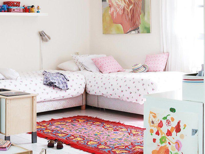 Dormitorio para dos hermanas dormitorios kids bedroom - Habitaciones infantiles compartidas ...