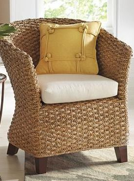 a casual version of the classic club chair the seville seagrass