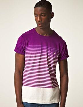 Dip Dye Stripe Shirt