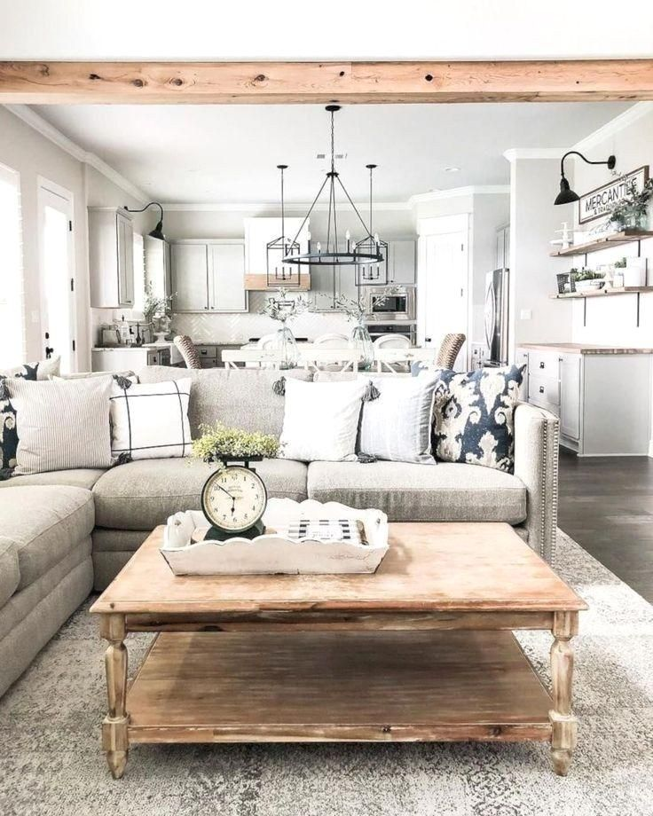 60 farmhouse living room joanna gaines magnolia homes ...