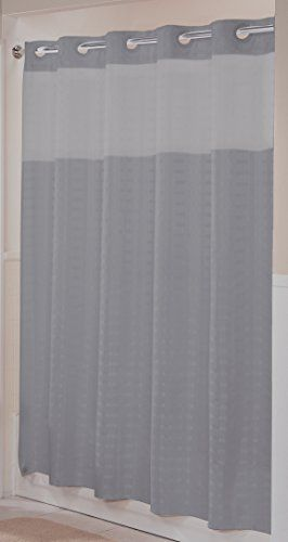 Hookless Rbh43my043 Litchfield Shower Curtain Frost Gray Visit