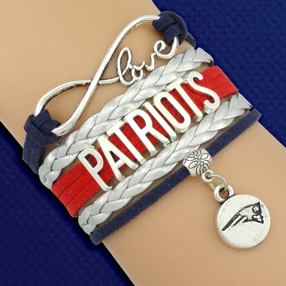 I Need This Handmade New England Patriots Bracelet Definitely On My Gift List 3
