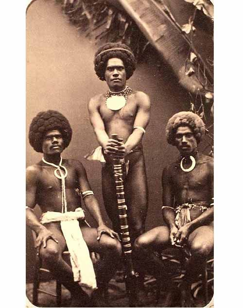 Photograph Of Three Fijian Men Fiji People Black History