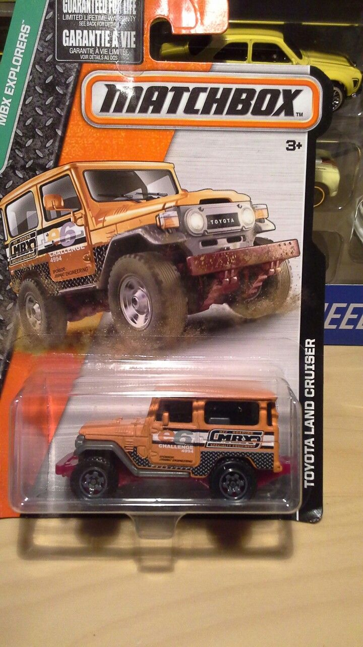 4x4 car toys  MATCHBOX  TOYOTA LANDCRUISER  Toys  Pinterest  Toyota Toyota