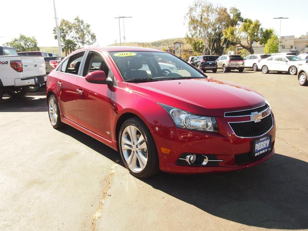 Cruze 2013 chevy cruze ltz for sale : 2013 Chevrolet Cruze LTZ LTZ Sedan 4 Doors Red for sale in Poway ...
