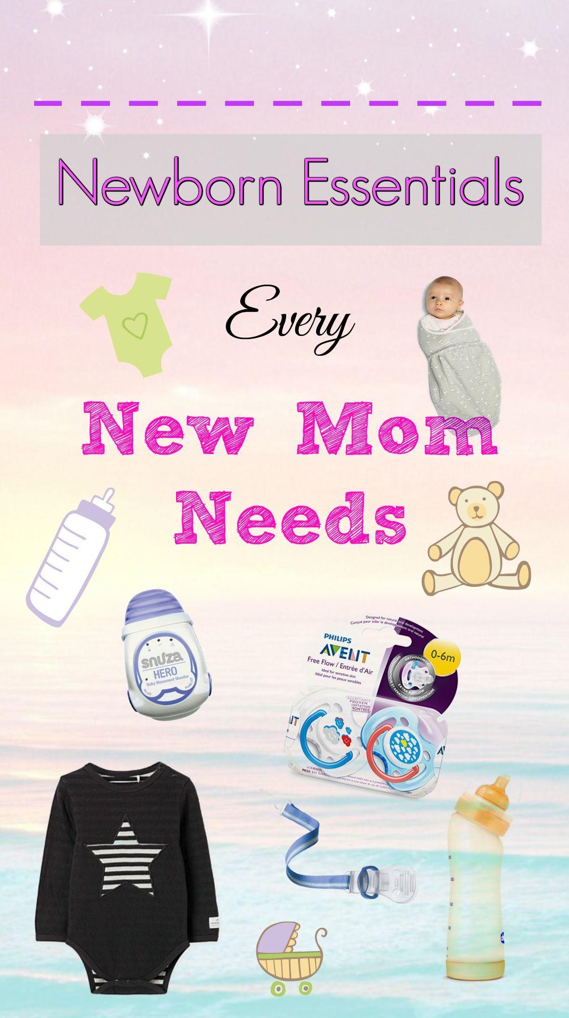 Newborn Essentials Every New Mom Needs