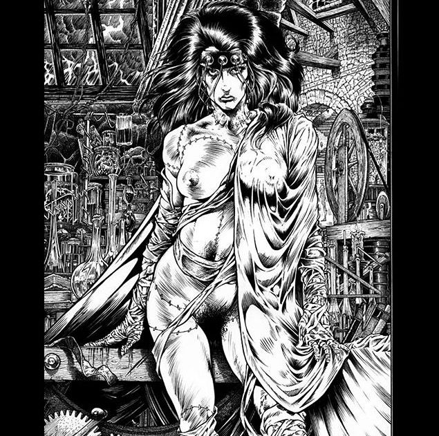 book comic Erotic art