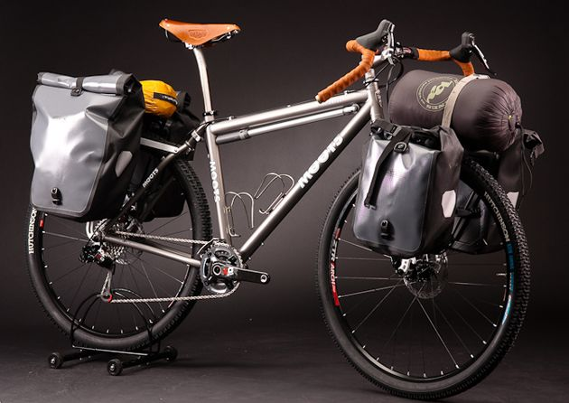 Moots Expedition Touring Bike Touring Bicycles Bicycle Touring
