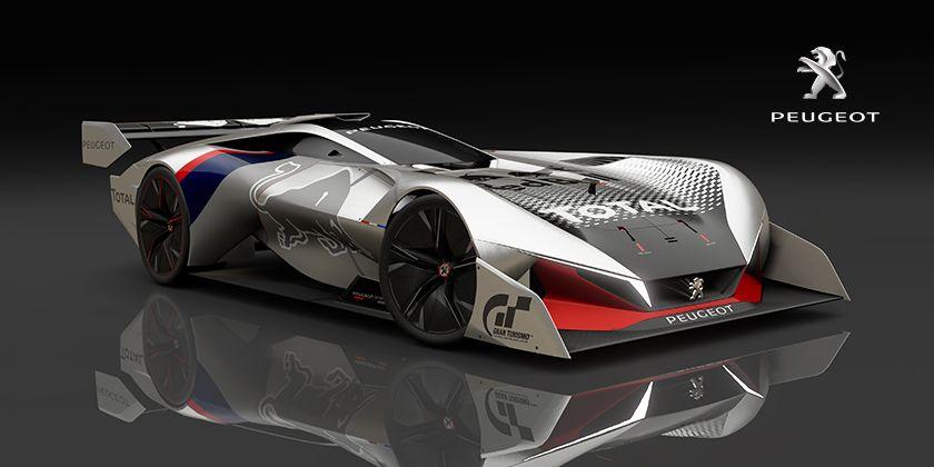 Vision Gran Turismo Gran Turismo Com Peugeot