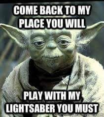 Pin By Agustin Angel Coria Aguirre On Yoda Memes Yoda Quotes Yoda Meme Star Wars