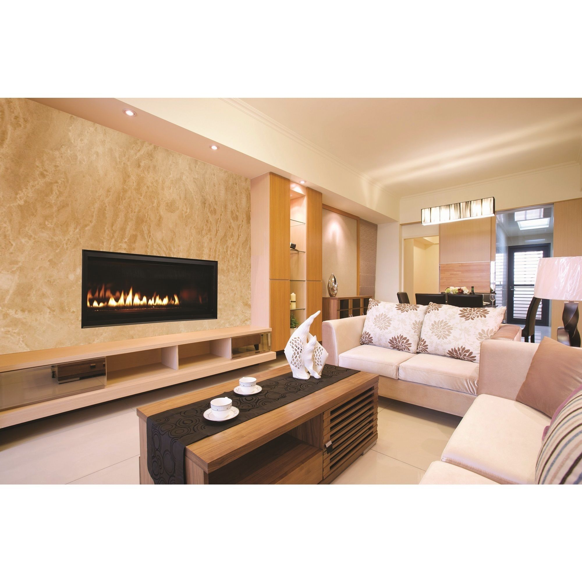 innovative 42 inch linear superior direct vent fireplace natural