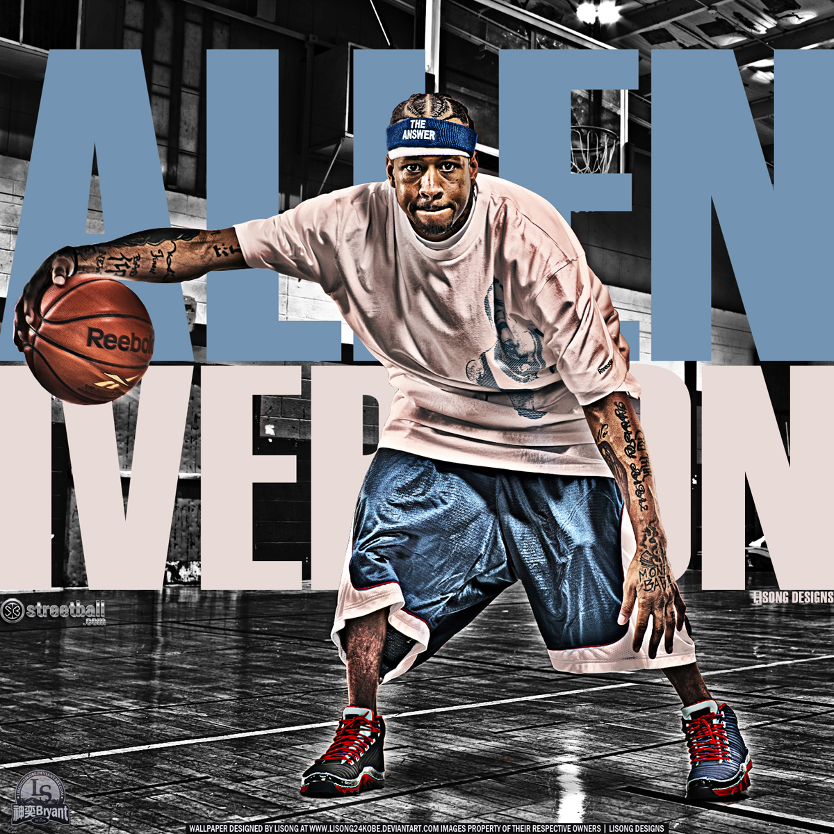 Mi Babii Allen Iverson Crossover Wallpapers The Answer Basketball