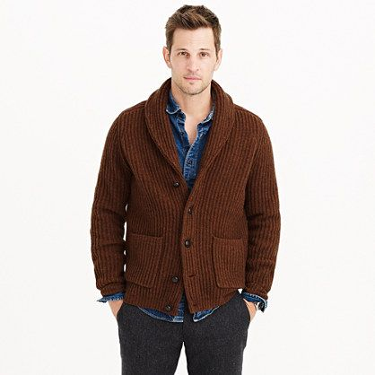 f39fa073e03 Lambswool ribbed cardigan sweater - J.Crew