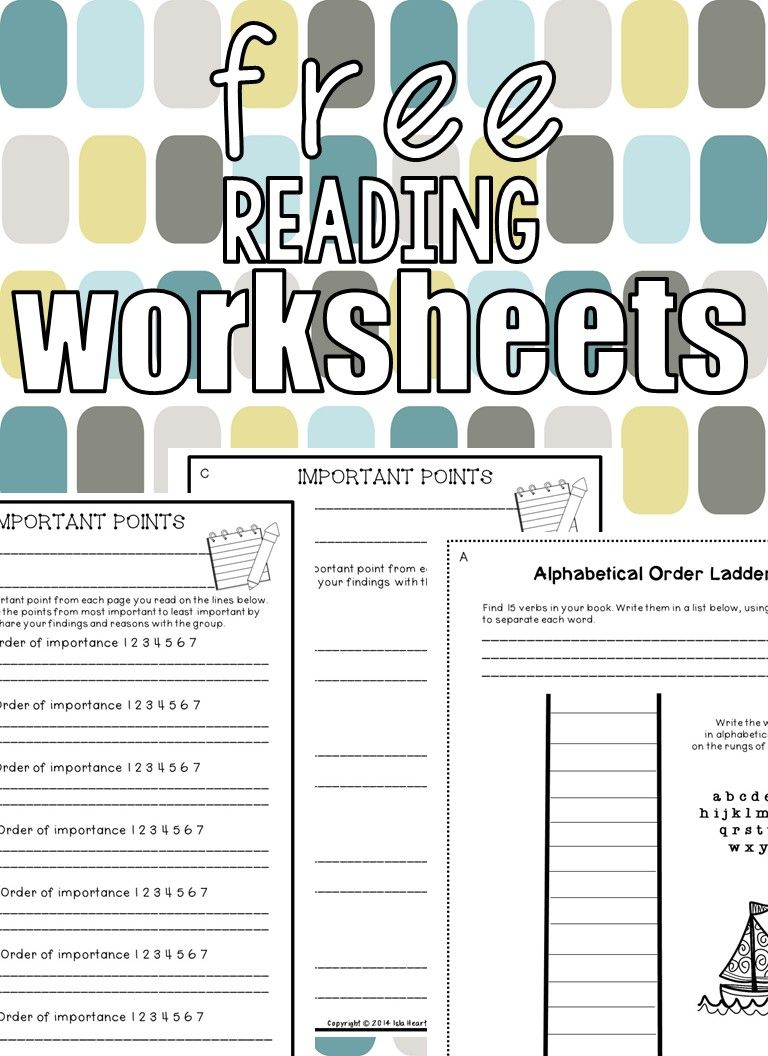 Free Reading Resources Guided Reading Activities Reading Worksheets Teaching Freebies [ 1056 x 768 Pixel ]
