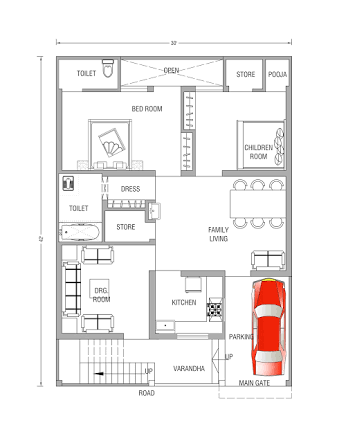House Plan 20 X47sq Ft Google Search Clean In 2018 Pinterest