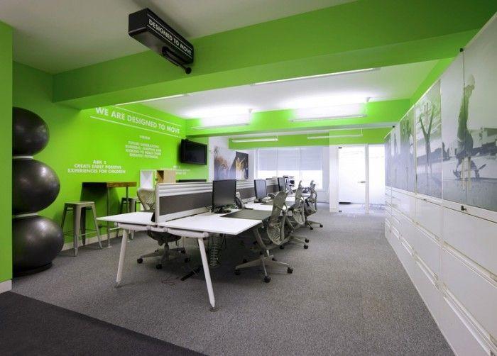 Office tour: inside nikes london offices office ideas pinterest
