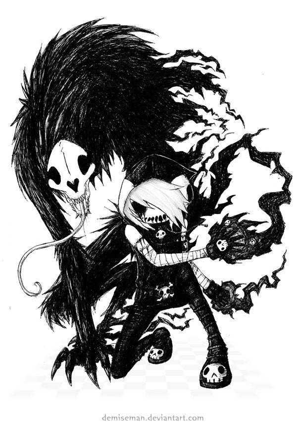 Demiseman And Seedeater Emo Art Art Horror Art