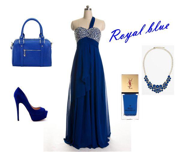 One Shoulder Beaded Prom Dress, Heels, Purse