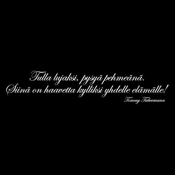 Tommy Tabermann Runot Rakkaus