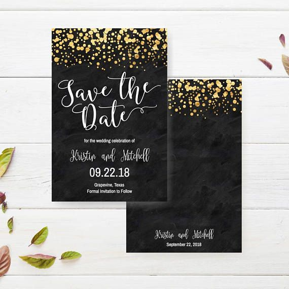 Printable Save The Date Wedding Invitations Save The Dates Template