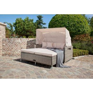 Lounge Multifunktionssofa Bahia Greemotion Polyrattan Liege 3in1 In Outdoor Furniture Sets Home Decor Furniture Sets