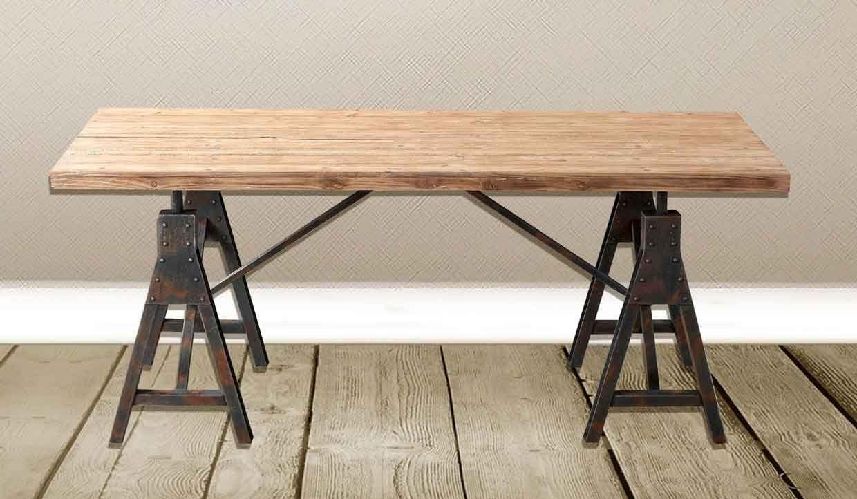 Tuoni arredamento ~ Stile industriale tavoli tondi o rettangolari in stile