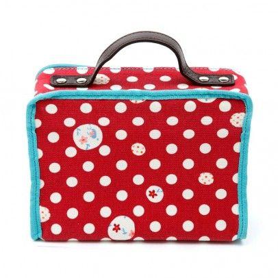 Lale  Lalé Rose Polka Dots Suitcase
