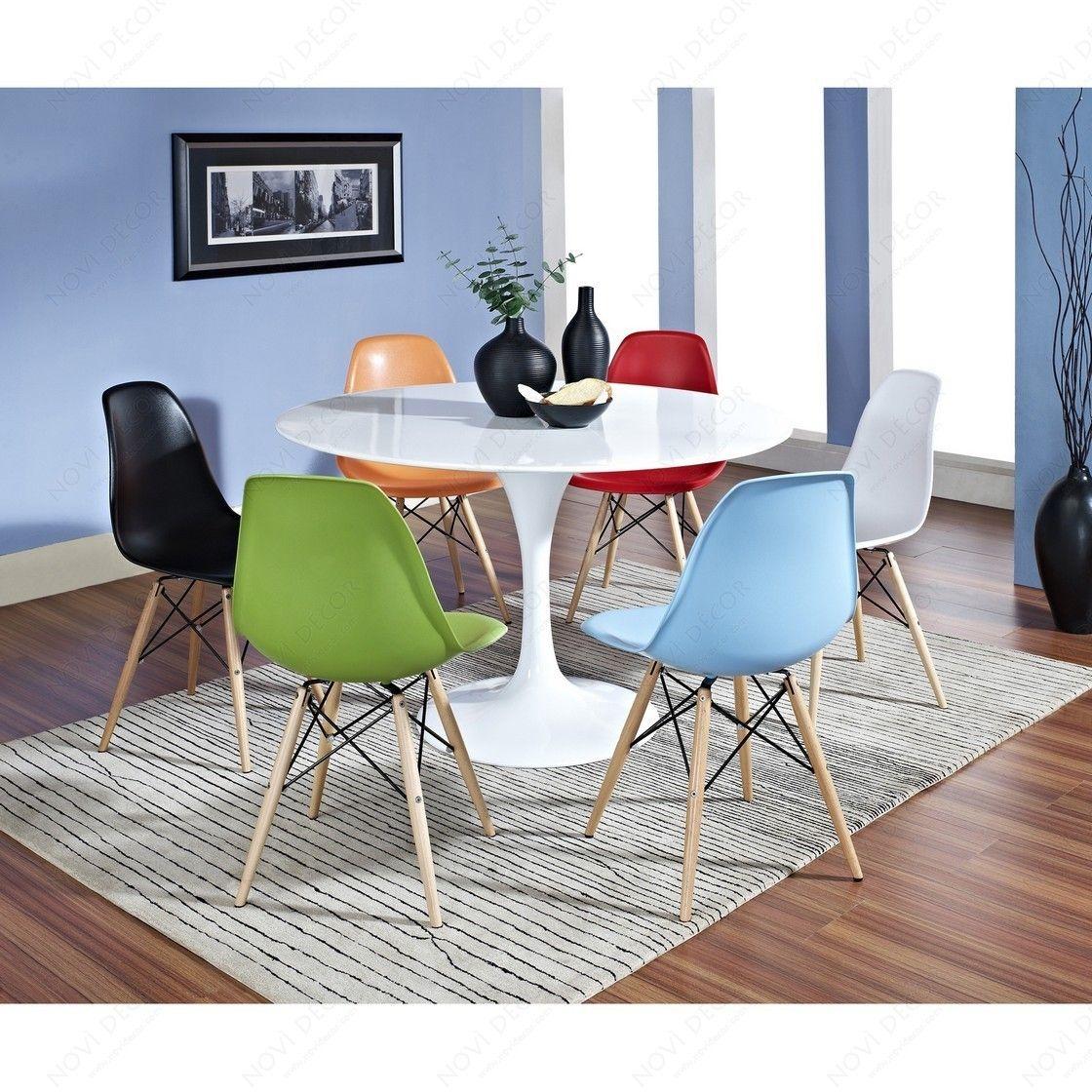 Eero Saarinen 48\  Tulip Table and Charles and Ray Eames Chair Set  sc 1 st  Pinterest & Eero Saarinen 48\