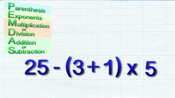 Order Of Operations Pemdas In This Video Educational Hip