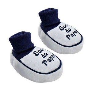 acdeeb0a89 ... Sapato de Bebê de Gebaby Online. Pantufa Infantil Sou do Papai