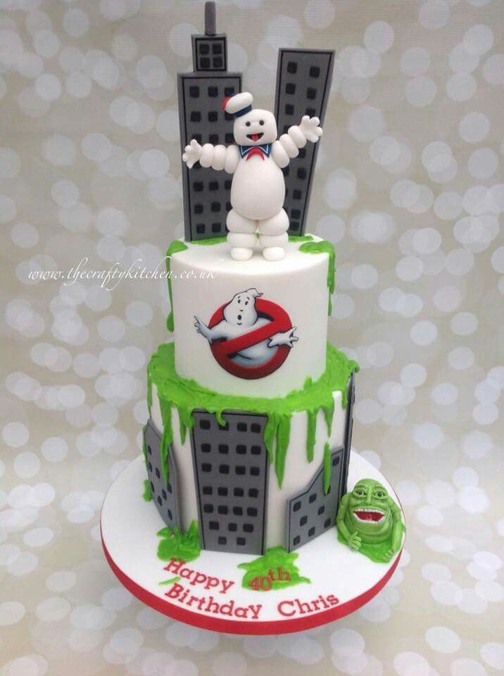 Ghostbusters cake Pinteres