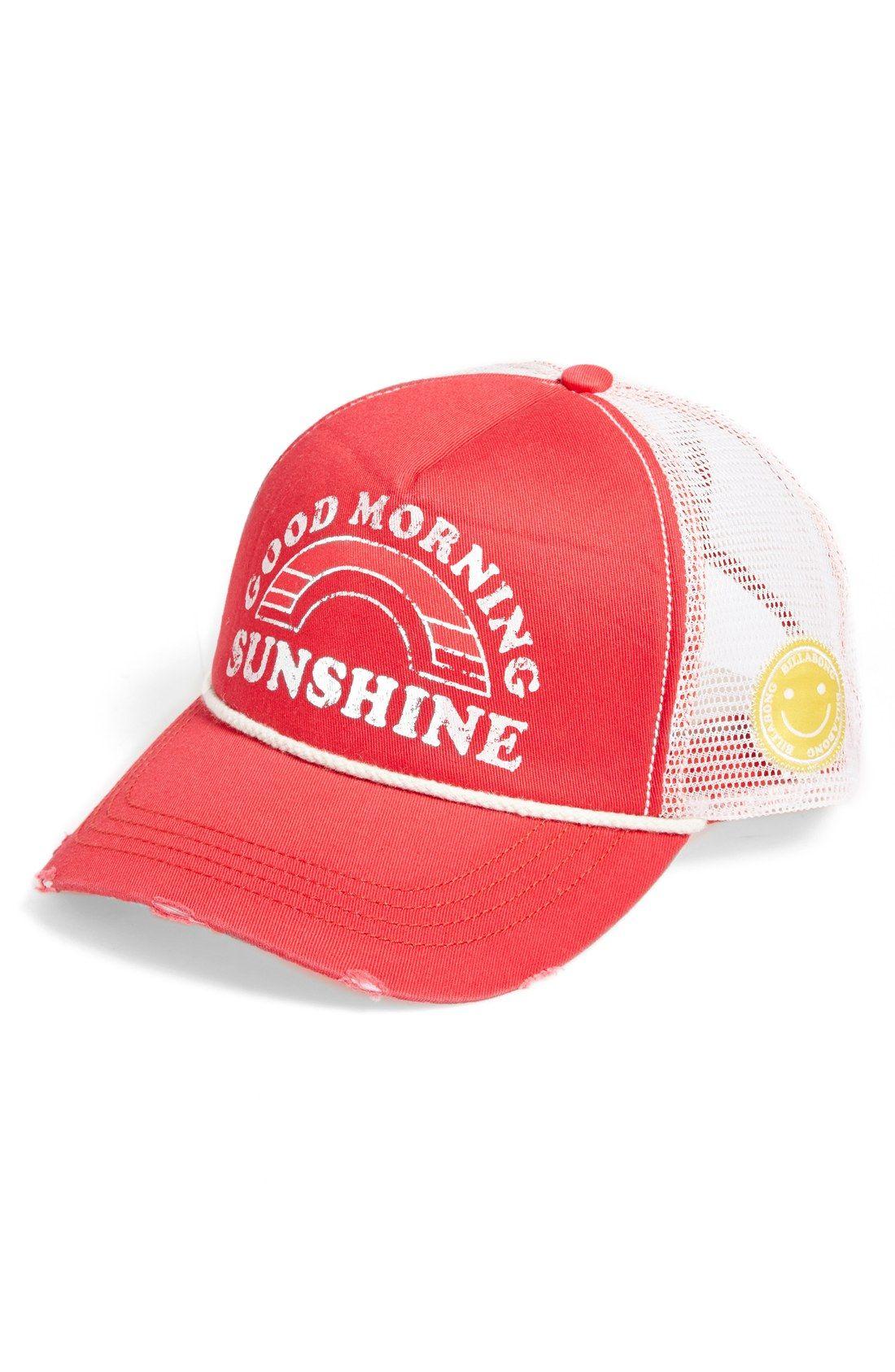 Billabong  Good Morning Sunshine  Trucker Hat  292c753c56c7