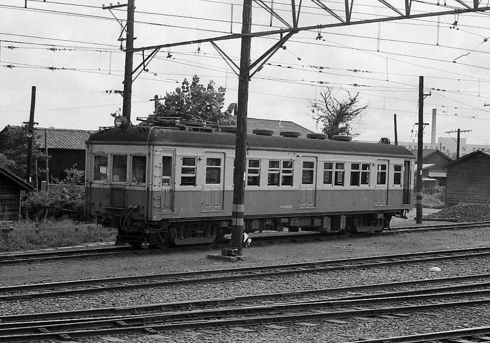 クモハ12形 鉄道写真 クモハ12010 1963 8 8 鉄道 写真 鉄道 写真