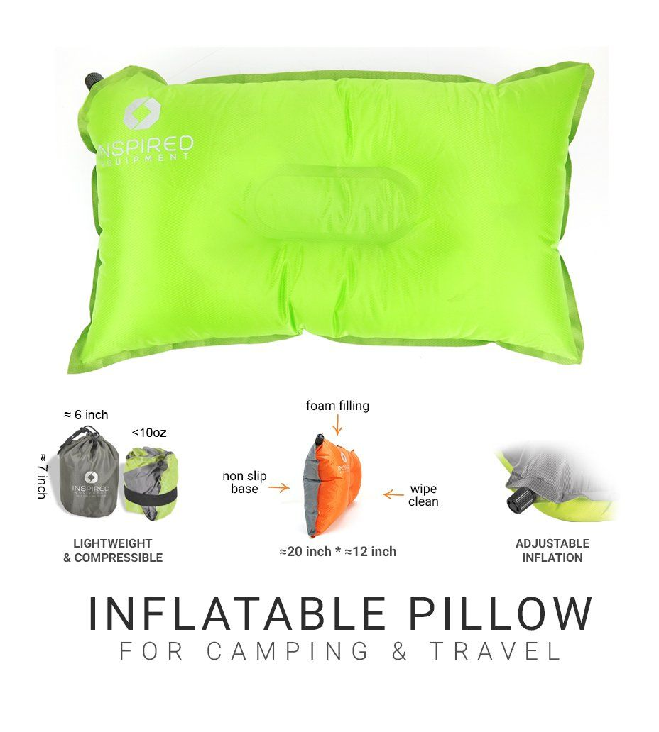 Camping Pillow by Inspired Equipment