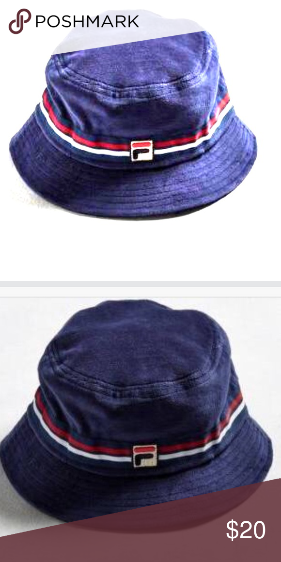 3b4158bf590 FILA BUCKET HAT NWT Need to update photos this is a stock photo the actual bucket  hat is all blue Fila Accessories Hats