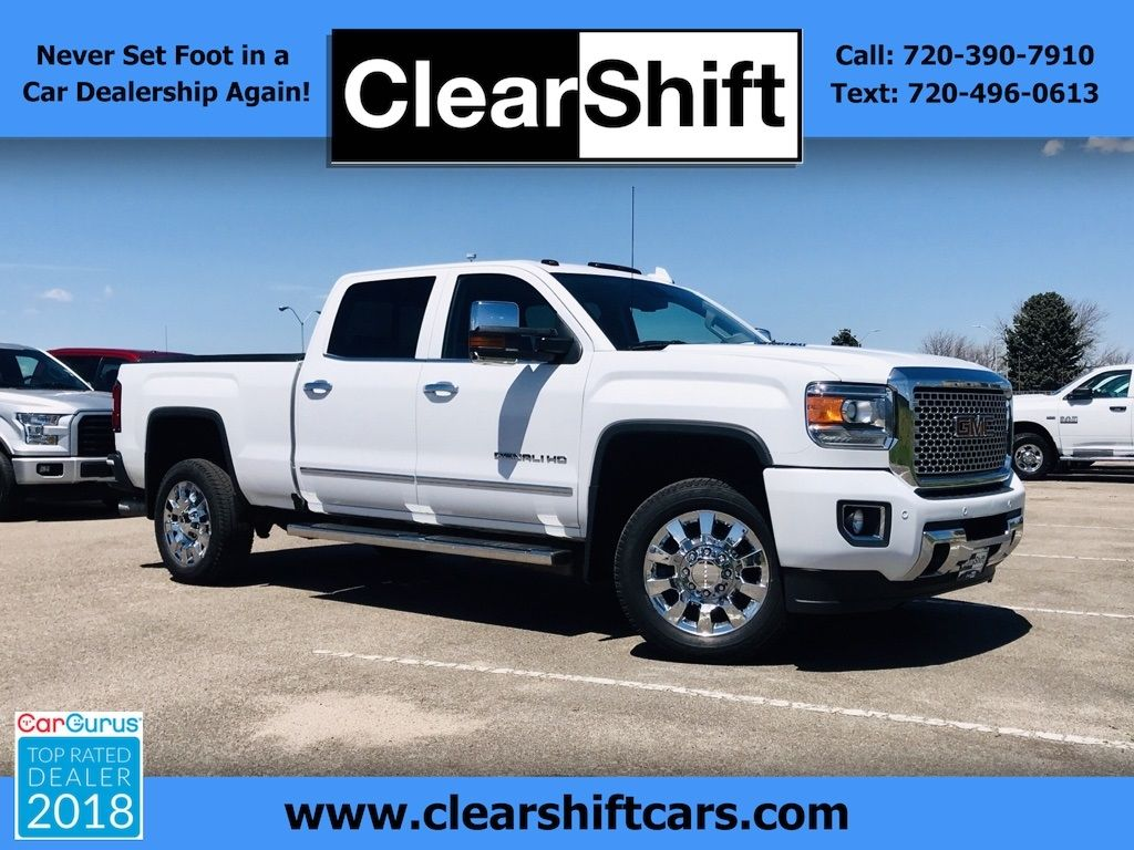 Used 2016 Gmc Sierra 2500hd Denali For In Littleton Co 80120 Clearshift Cars