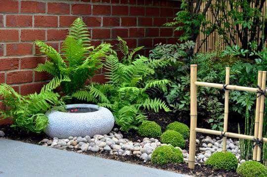 Ideas para jardines pequeños con piedra | Patios, Gardens and Flowers