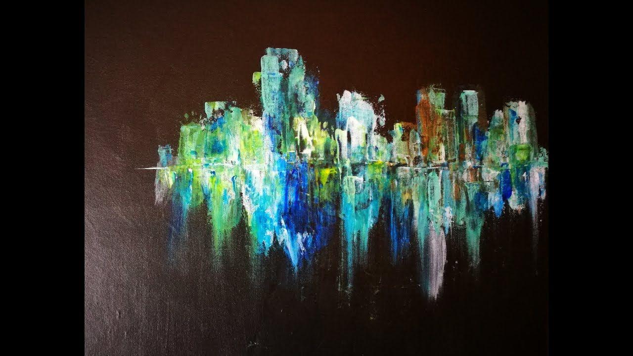 Rapide Et Facile Une Peinture Acrylique En Moins De 15min 4