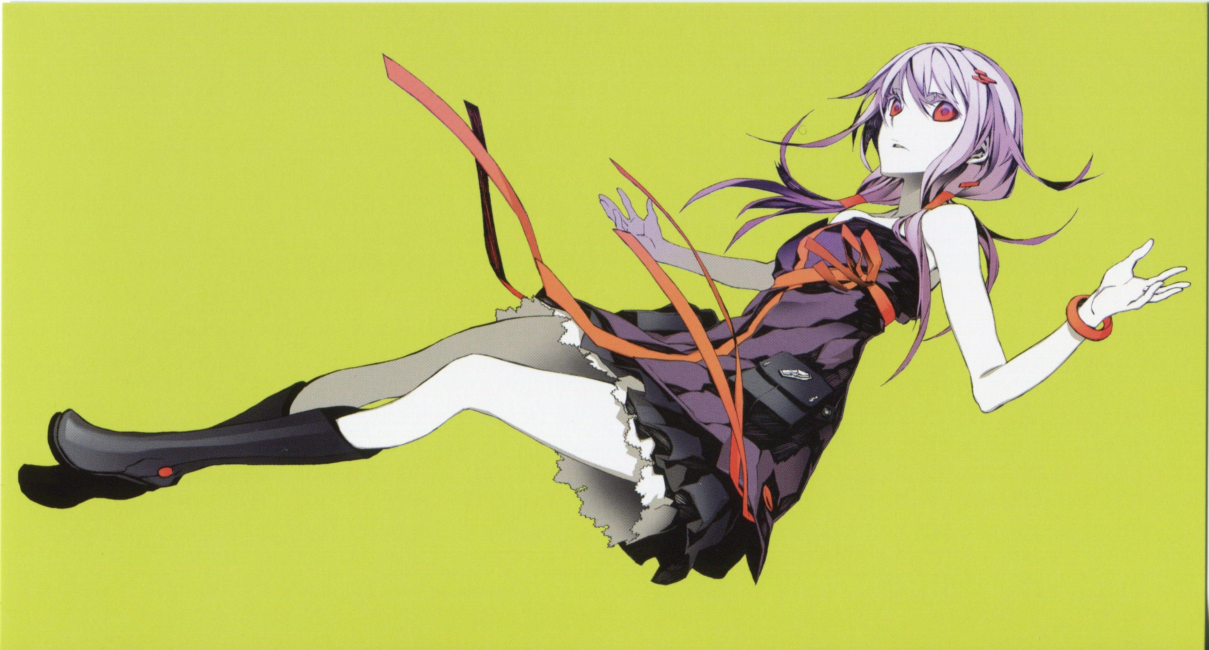 Anime Guilty Crown Anime Inori Yuzuriha Shu Ouma Wallpaper