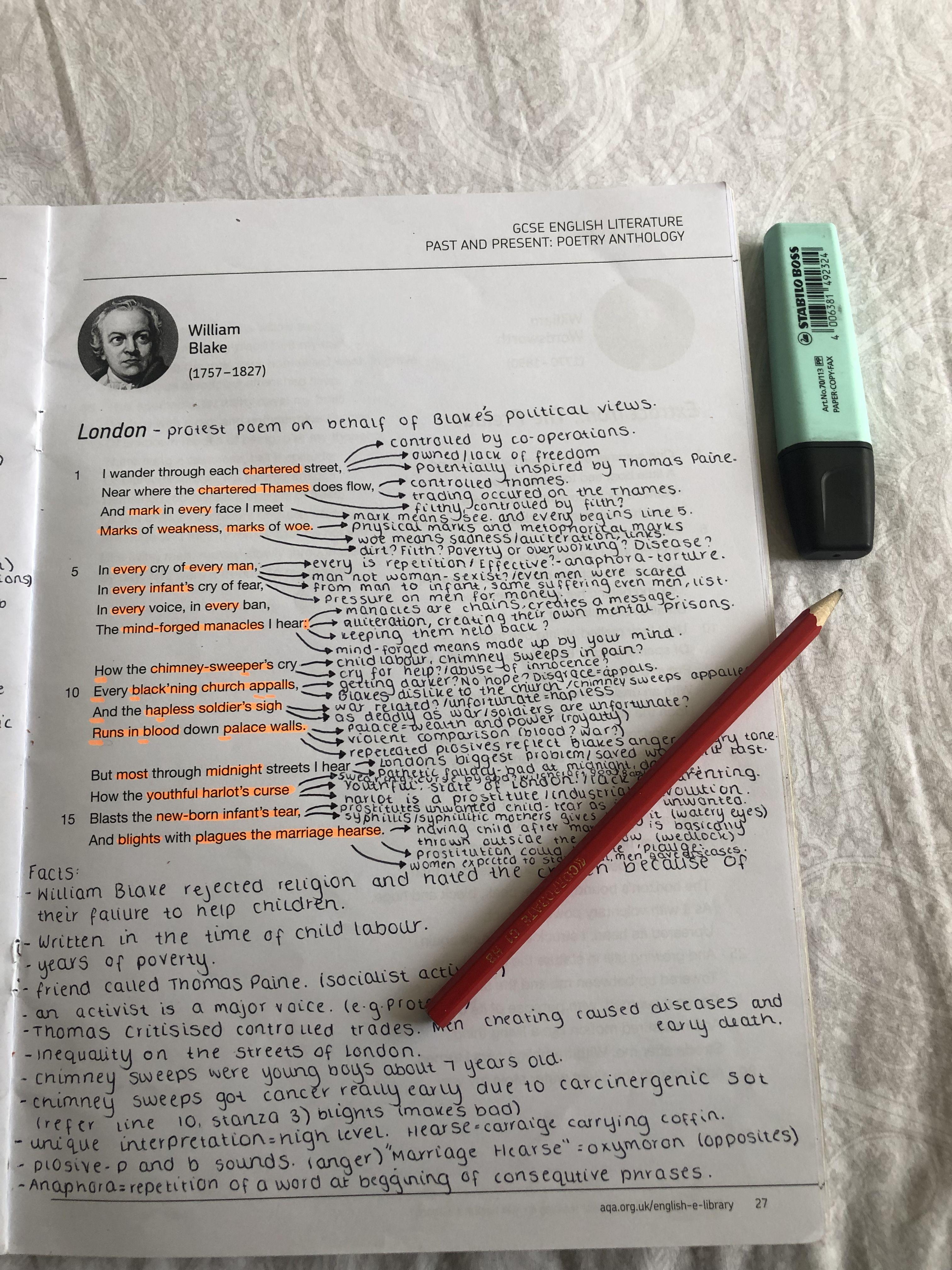 Anthology Post Englishgcse Englishlit Gcse2019 Gcse2020 Ozymandia London Williamblake Gcse English Literature Poetry Analysi Poem Analysis Summary Of The By Shelley